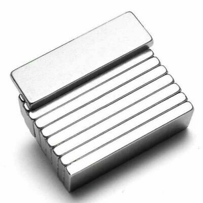10X N52 Large Super Strong Block Rare Earth Neodymium Cuboid Square NdFeB Magnet