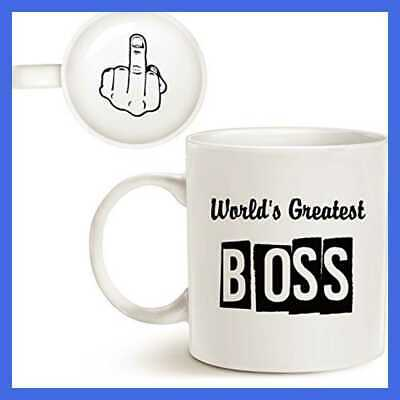 Mothers Day Fathers Funny Best Boss Office Coffee Mug Christmas