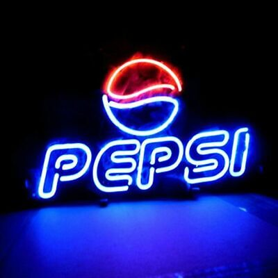 "Pepsi Cola Soft Drink Neon Sign Beer Bar Gift 14""x10"" Lamp Poster"