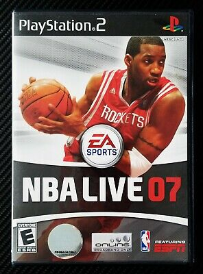 NBA Live 07 (Sony PlayStation 2 2006 PS2) Complete, Clean, Tested, FREE SHIPPING