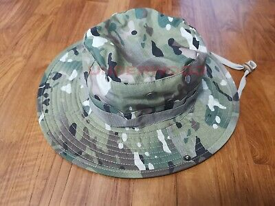 Military Boonie Hat - Men Military Boonie Hat US Army Multicam  1 Size Fits All