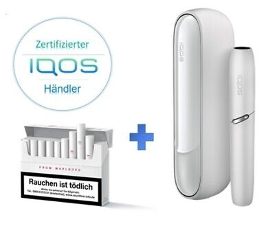 IQOS 3 Starter Kit *Warm White* inkl. 100 HEETS nach Registration - NEU