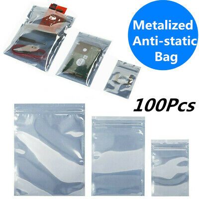 Anti-static ESD Resealable Packing Bag Shielding Bags Electronics Shield Protect