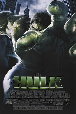 Hulk - original DS movie poster - 27x40 D/S - Marvel
