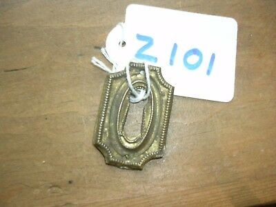 Antique Brass Escutcheon (Z101)