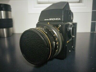 Zenza Bronica ETRC Medium-format SLR Film Camera. 80mm f2.8 Lens