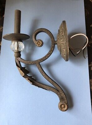 One Pair of Wall metal light sconces