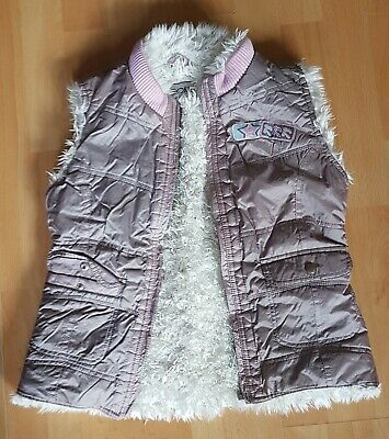 9 -10 years Cherokee body warmer / gillet with fluffy lining good worn condition