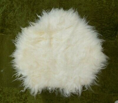 100% Genuine Natural Sheepskin Rug Pet Pad Mat Cover Dolls Furnishing (Pt842)