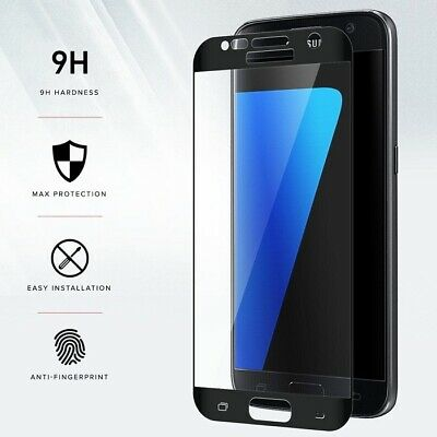 6D Full Cover Gorilla Tempered Glass Screen Protector Film for Samsung Galaxy