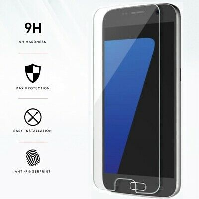 FULL CLEAR Gorilla Tempered Glass Screen Protector Film for All Samsung Galaxy