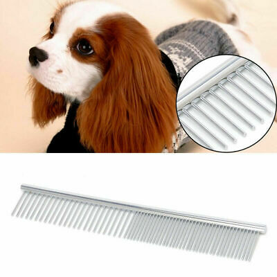 Pets Comb Stainless Steel Hair Brush Shedding Flea For Cat Dog Trimmer Grooming