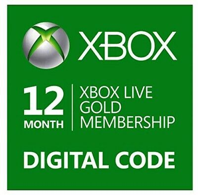 Xbox Live Gold 12 Mesi ***Very Fast Shipping***