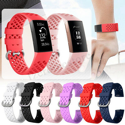 S/L 6Colors Strap Replacement Smart Watch Bracelet Wrist Band For Fitbit