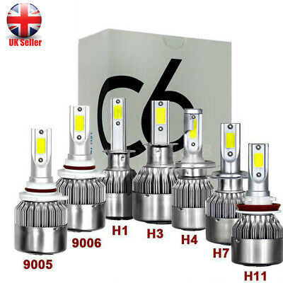 1500W 225000LM 6500K LED Headlight Kit Light Bulbs 2X H4 H7 H8/H9/H11 9005 9006