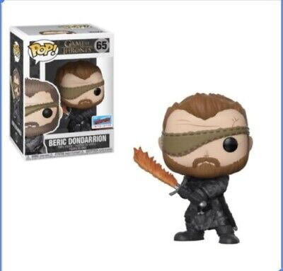 Funko Pop! Pop! TV: Game of Thrones Beric Dondarrion Fall Exclusive 2018 Presale