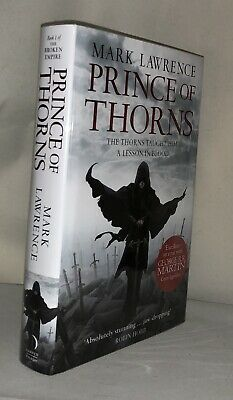 PRINCE OF THORNS - Mark Lawrence - 1ST HB - Signed, Limited Edition - Voyager