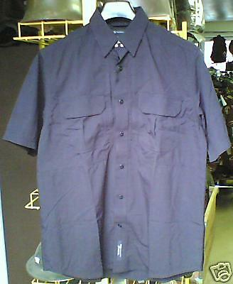 Chemisette Tactical ripstop 5.11 bleu marine taille XL
