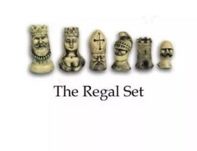 Chess Set Moulds Mould Latex CS15 The Regal Set