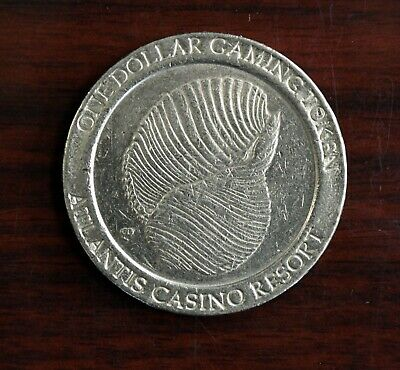Atlantis Casino Resort Dollar Gaming Token Reno Nevada