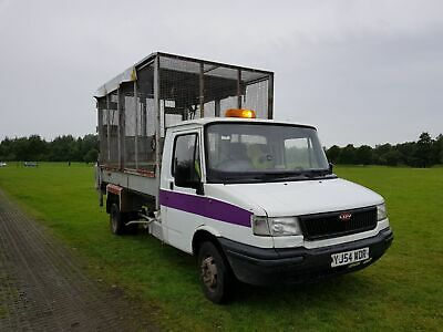 Ex Council Ldv Convoy Xlwb  Diesel Caged Tipper With Taillift  Spares Repairs