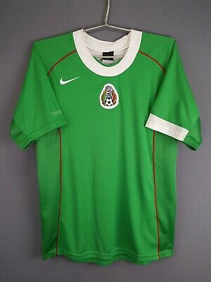 7c10428d20f 4.4/5 Mexico jersey small 2004 2005 home shirt soccer football Nike ig93