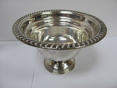 """Empire # 81 Sterling Silver Weighted Small Bowl 5 1/8"""" Wide Xlnt Cond"""