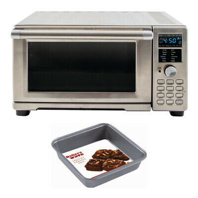 NuWave Bravo XL Air Fryer Toaster Oven with Square Pan