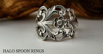 Norwegian Silver Viking Rose Spoon Ring The Perfect Gift Idea