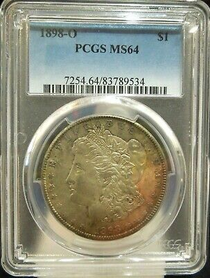1898 O Morgan Silver Dollar   PCGS MS64                                   C1BR