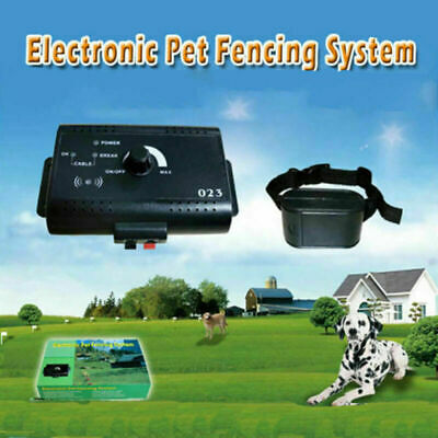 2019 Hidden Dog Pet Containment System Electric Shock Boundary Control Fence BRM