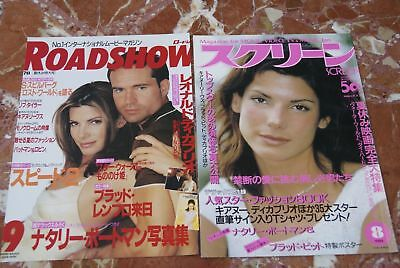 Sandra Bullock Japanese Clippings Lot