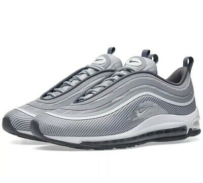 e125345355 NIKE AIR MAX 97 Ultra '17 Wolf Grey Men's Trainers 918356-007 Size ...