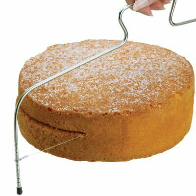 Cake Cutter Bread Wire Slicer Cutting Leveller Leveler Decorating Decorator UK