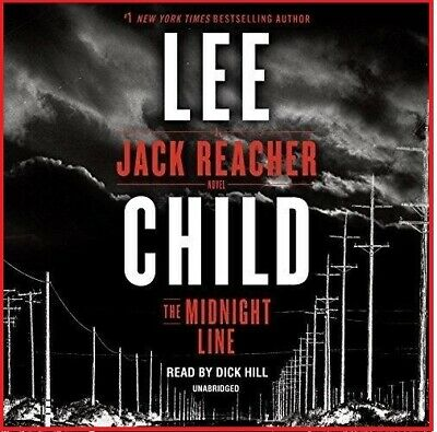 The Midnight Line; A Jack Reacher Novel by Lee Child (audio book, e-Delivery)