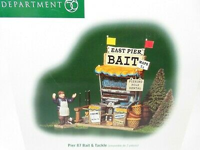 Department 56 PIER 87 BAIT & TACKLE Christmas in the City (59419) NEW