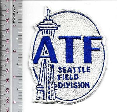 ATF Washington State Seattle Field Division Washington Field Office Agent Patch