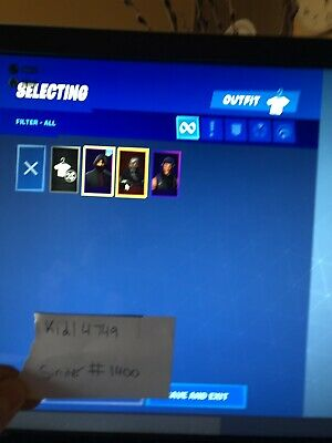 XBOX ONE SEASON 3 fortnite account with galaxy skin - $50 00