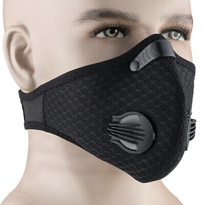 Rockbros Cycling Outdoor Anti-dust Half Face Mask With Filter Neoprene One Size High Quality Goods Costumes, Reenactment, Theater