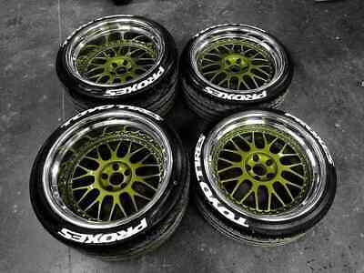 """Toyo tires proxes permanent Tire Stickers 14""""-22"""" Tyre Lettering 25-31-38mm kit"""