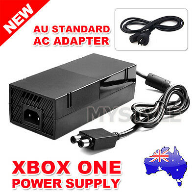 AC Adapter Charger Cable Mains Power Supply Brick Microsoft XBOX ONE Console Q