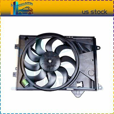 Fits for 2012-2017 Chevy Sonic 1.8L l4 Radiator AC Condenser Plastic Cooling Fan