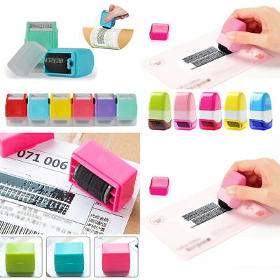 1Pcs Safe Roller Stamper Identity Theft Protection Stamp Self Guard ID Security
