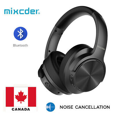 Mixcder Wireless Headphone Noise Cancelling Wireless Bluetooth Headset CANADA