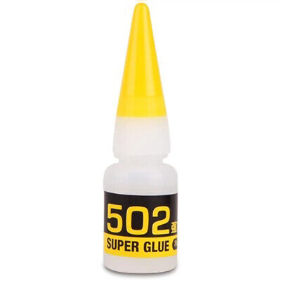 502 Cyanoacrylate Adhesive Super Glue Strong Adhesion for Glass Plastic Leather