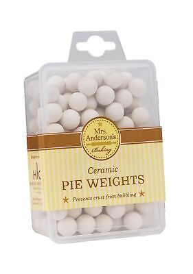 Mrs. Anderson's Baking Ceramic Pie Crust Weights, Natural Ceramic Stoneware