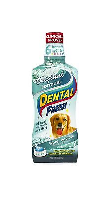 Dental Fresh Water Additive - Original Formula For Dogs - Clinicially Proven,...