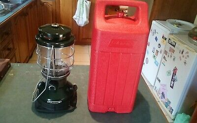 Coleman Northstar Made In Usa Dual Fuel Not Kerosene Lantern Lamp Camping