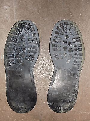 Pair of Insoles Exterior Pirelli T.39 for Combat Boots or Shoes Sewn