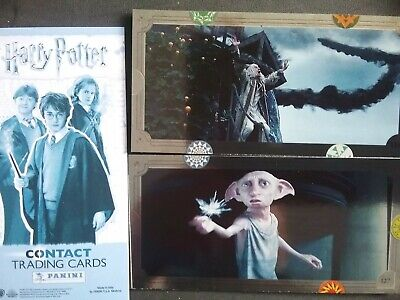 Harry Potter Contact Trading Cards X20 Loose Cards